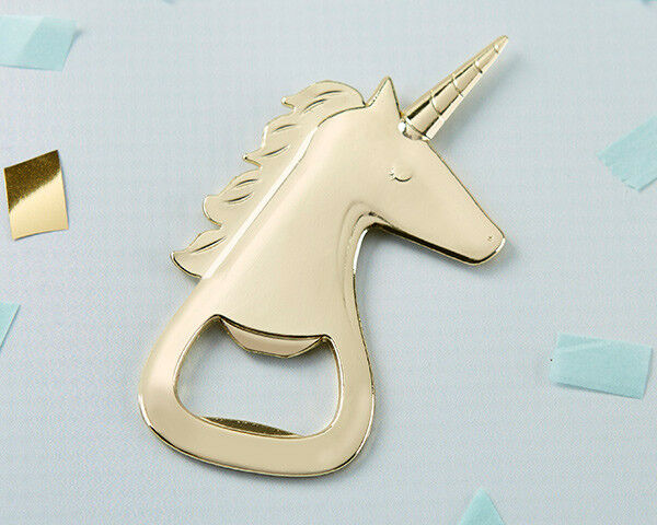 48 or Unicorn Bottle Opener Bridal Shower Wedding Favors