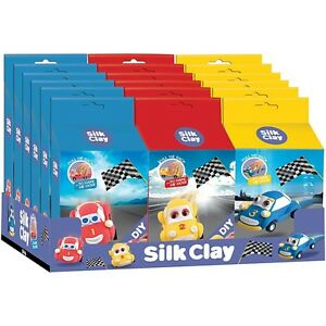 Creotime-Funny-Cars-Silk-Clay-Kits