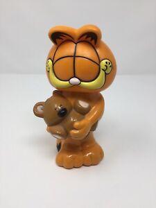 Garfield-1981-Bubble-Bath-Plastic-Retro-Figure