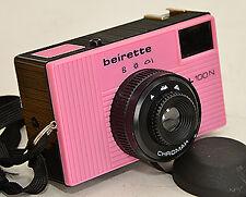 Beirette SL 100N *pink CARL ZEISS JENA + Chromar 8/50 ! (7621)