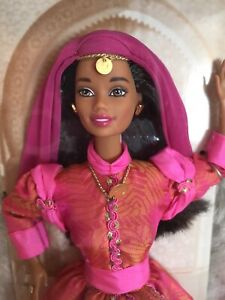 BARBIE-1998-DOLLS-OF-THE-WORLD-MOROCCAN-21507-NRFB-Beautiful-Doll