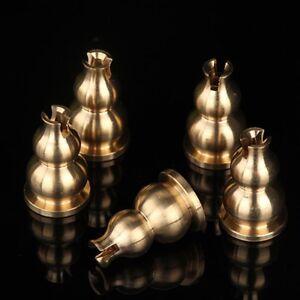 Base-Burner-Stick-Gourd-Shaped-Incense-Holder-Brass