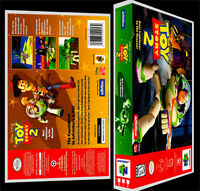 Toy Story 2 - N64 Reproduction Art Case/box No Game.