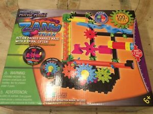 Marble Mania Zany Trax Stem Building Kit New In Box By