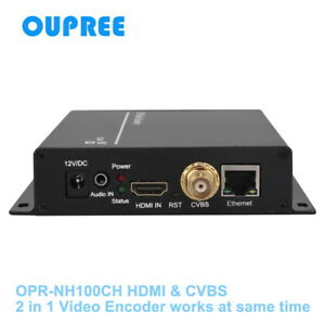 Details about H 264 HDMI & CVBS Video Encoder send streaming to  wowza,xtream codes,nginx etc