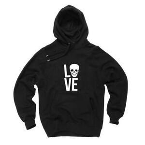 Hoodie-LOVE-Skull-Totenkopf-Design-Style