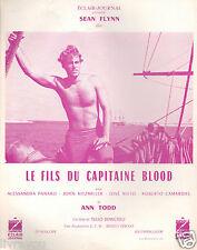 ▬►1962 Synopsis LE FILS DU CAPITAINE BLOOD Sean Flynn