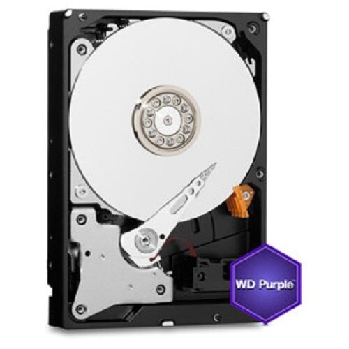 "Hard Disk Western Digital Purple 1TB Interno 3,5"" 5.4K 64MB WD10PURZ"