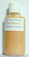 30ml ETHNIC FLESH WASH 6 - for Special Care Nursery Air dry Reborning Paints