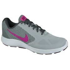 nike revolution 3 wolf grey fire