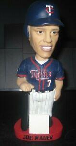 Joe Mauer Bobblehead Nodder Wobbler Minnesota Twins SGA 2005 STH MLB RARE