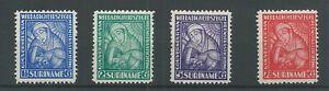 Suriname 137-140 VAn Heemstra  MNH/postfris  CV 80 €