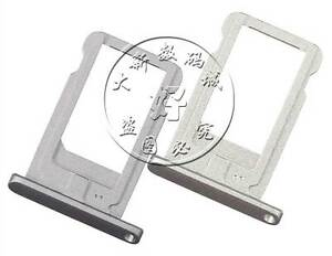 "For iPad Pro 12.9/"" 2015 Nano SIM Card Tray Holder Slot 1st GEN White//Silver"