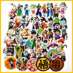 Decal Dragon Ball Stickers Pack - Vinyl Goku Sticker x50 Anime Sticker