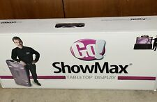 Showmax Tabletop Self Packing Display Withlights For Trade Shows Markets Vendors