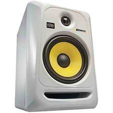 """Krk ROKIT6G3W 6"""" White Studio Monitor"""