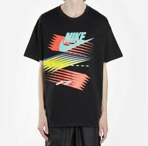 NIKE Men Nike x Atmos SS T Shirt Black CI3197 010 - Large New