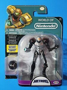 "JAKKS Pacific 2017 World of Nintendo Metroid Phazon Suit Samus 4.5"" figure"
