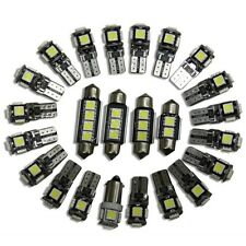 7x smd led interior lights opel astra h gtc opc caravan bulbs white