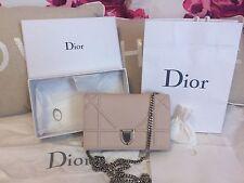 Dior, Diorama Wallet on Chain Pouch in Powder Pink