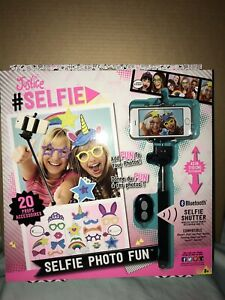 Justice Bluetooth Selfie Stick With Photo Booth Props Ebay