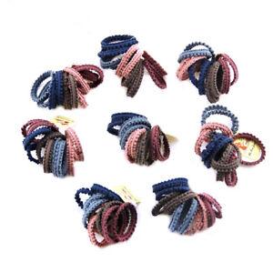 10Pcs-Lot-Kids-Girl-Elastic-Rope-Hair-Ties-Ponytail-Holder-Head-Band-Hairbands