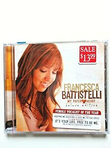 Francesca-Battistelli-My-Paper-Heart-Deluxe-Edition-CD-New-Factory-Sealed-2010