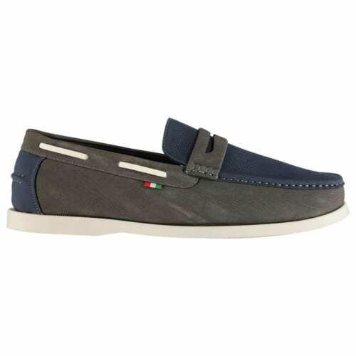 D555 Homme Dench Bateau Chaussures Décontractées à Enfiler Everyday