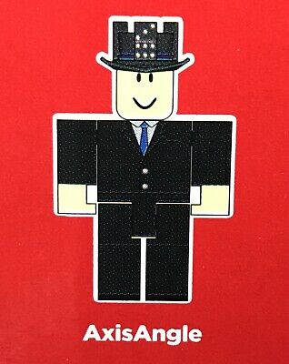 New Roblox Blind Mystery Series 4 Red Box Figure Axis Angle