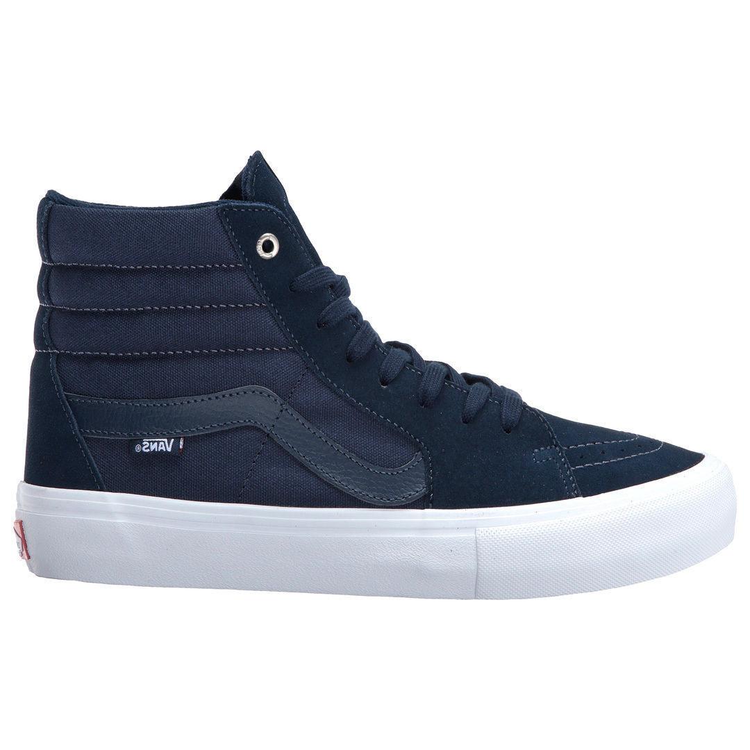 Vans Sk8-Hi Pro Sneakers Navy Navy White VN-000VHGKV2 VN-000VHGKV2 VN-000VHGKV2 Men's High Top Classic LR 023efd