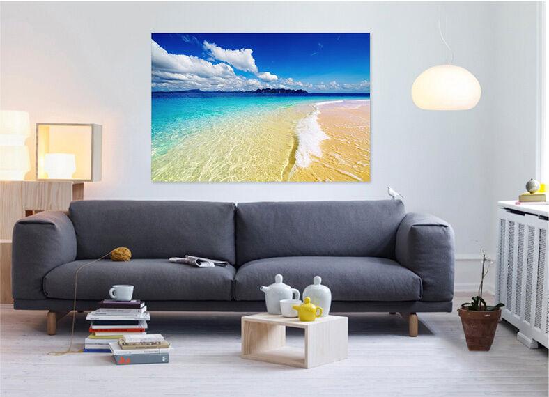 3D Himmel, Strand 1667 Fototapeten Wandbild  BildTapete Familie AJSTORE DE