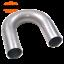 "1.75/"" 1-3//4/"" 180 Degree 16ga Aluminized Mandrel U Bend Exhaust Tubing Header"