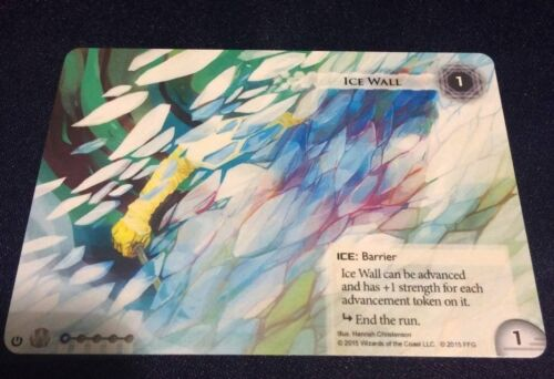 Android Netrunner Promo Ice Wall Card