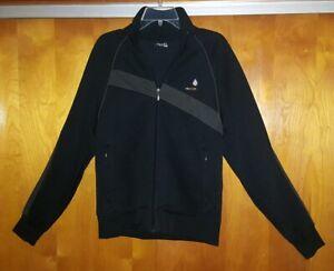 Volcom-Jacket-Full-Zip-Uni-sex-Men-039-s-Size-S-Women-039-s-M-L-Black-EUC