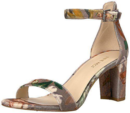 Nine West Donna Pruce Fabric Sandal- Pick SZ/Color.