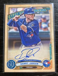 Danny-Jansen-RC-On-Card-Auto-2019-Topps-Gypsy-Queen-GQA-DJ-Toronto-Blue-Jays