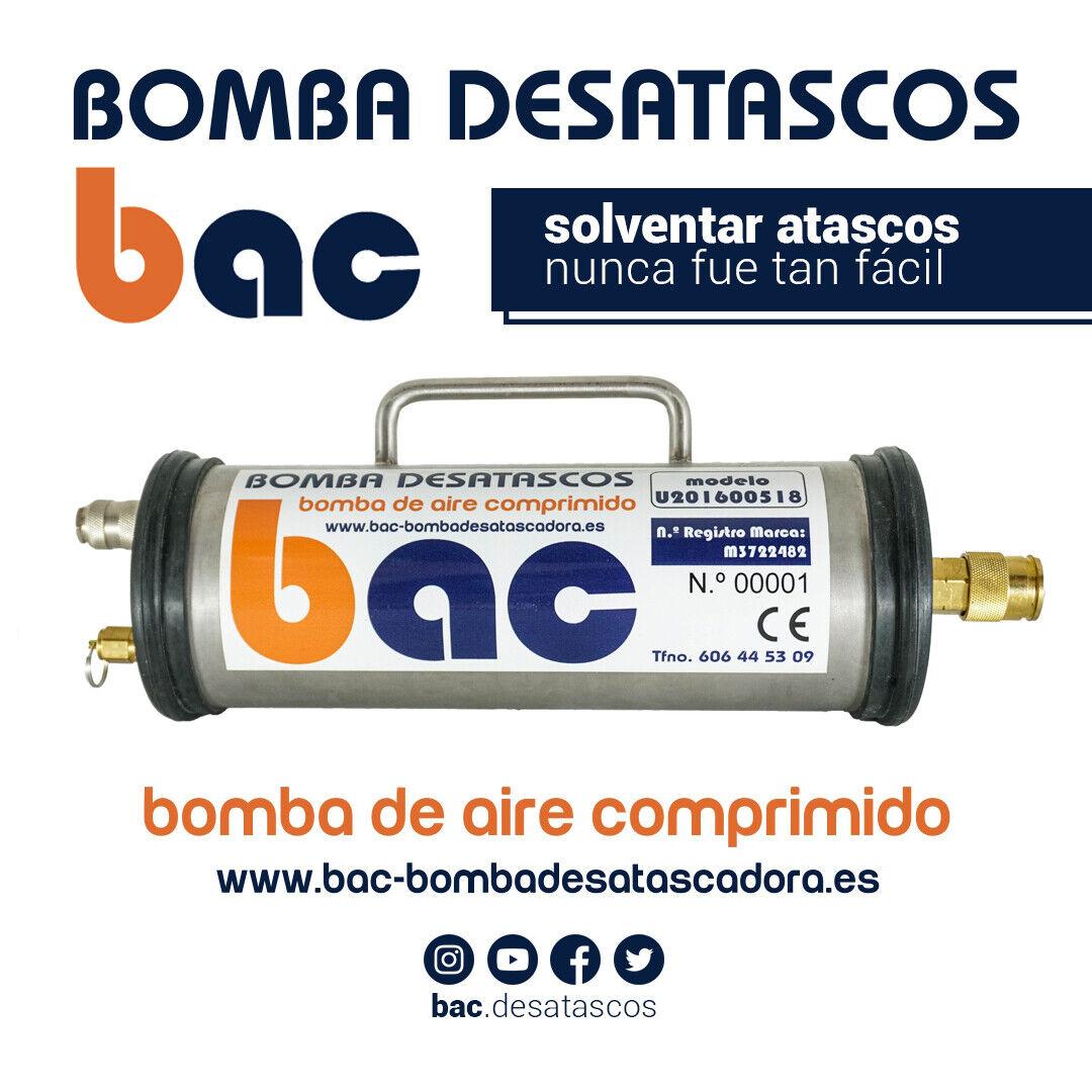 s l1600 - x1 Bomba de Aire Comprimido COMPLEMENTO para BAC Bomba Desatascadora de Tuberias
