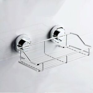 Suction-Cup-Adhesive-Wall-Mounted-Bathroom-shelf-Households-Rack-I5A1