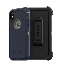 NEW-Otterbox-Defender-Screenless-Edition-Case-W-Holster-Apple-iPhone-XS-Max