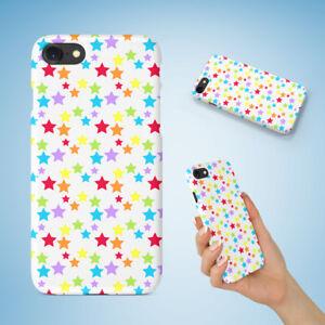 f623c22c64 RAINBOW STAR PATTERN CASE IPHONE 4 4S 5 5C 5S SE 6 6S 7 8 X PLUS | eBay