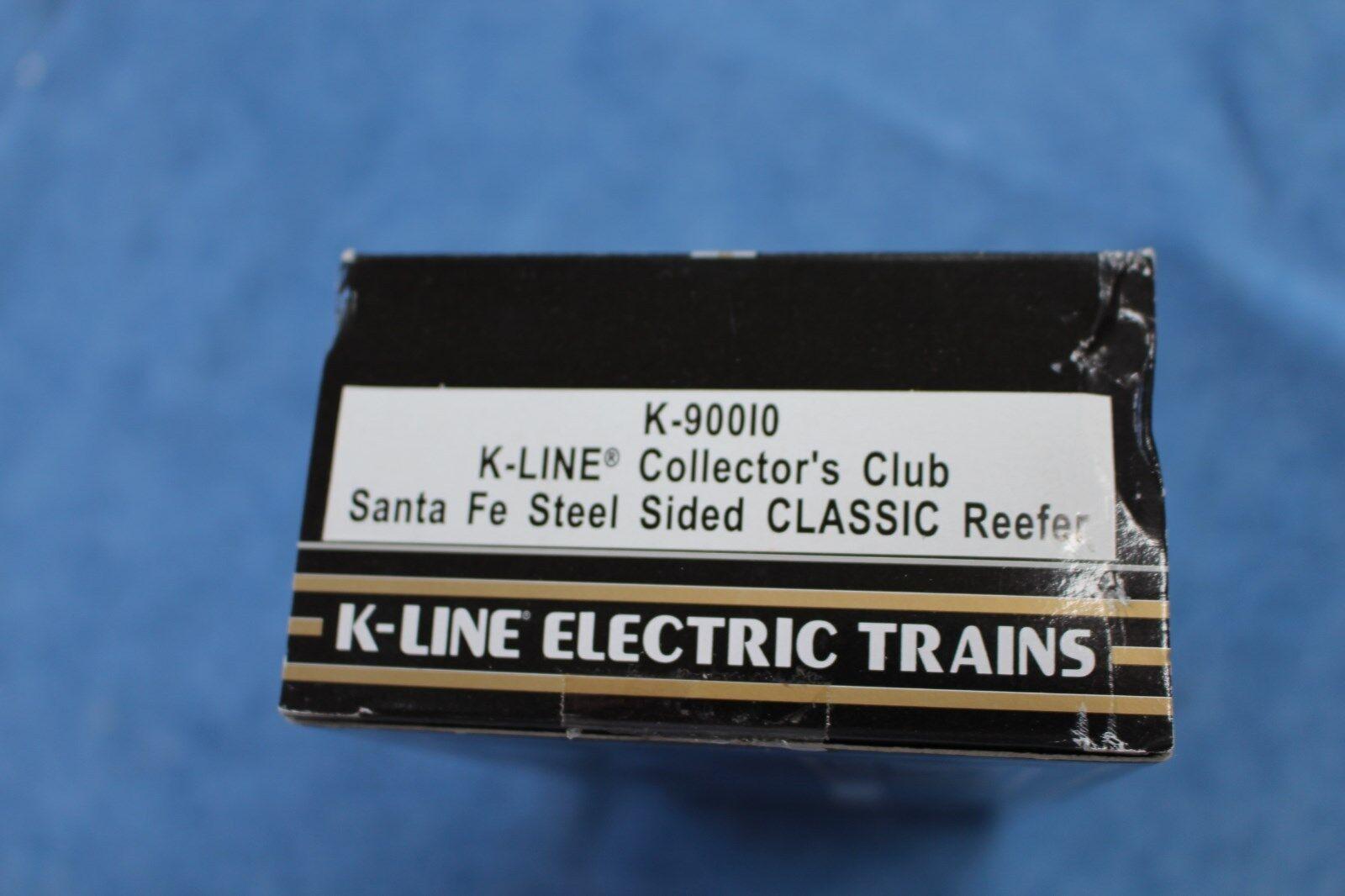 1996 K-Line K-Line K-Line  K90010 Santa Fe Classic Reefer KCC Collector's Club L2655 ab7779