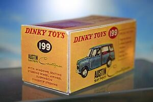 Dinky Austin Seven Countryman Vintage styled Reproduction Box Number 199 - Liskeard, United Kingdom - Dinky Austin Seven Countryman Vintage styled Reproduction Box Number 199 - Liskeard, United Kingdom