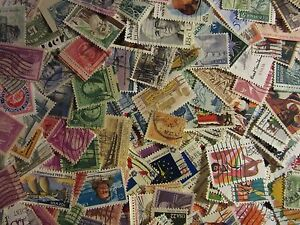 USA-postage-stamp-lot-300-ALL-DIFFERENT-USED-STAMPS-GREAT-MIX-FREE-SHIPPING-L33A