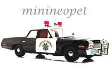 AUTOWORLD AMM935 1974 74 DODGE MONACO CALIFORNIA HIGHWAY PATROL POLICE CAR 1/18