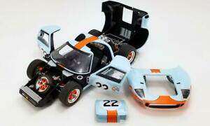 #22 1969 Gulf GT40 Ickx and Oliver Sebring 12 WIN -1/12 METAL Fully Opening