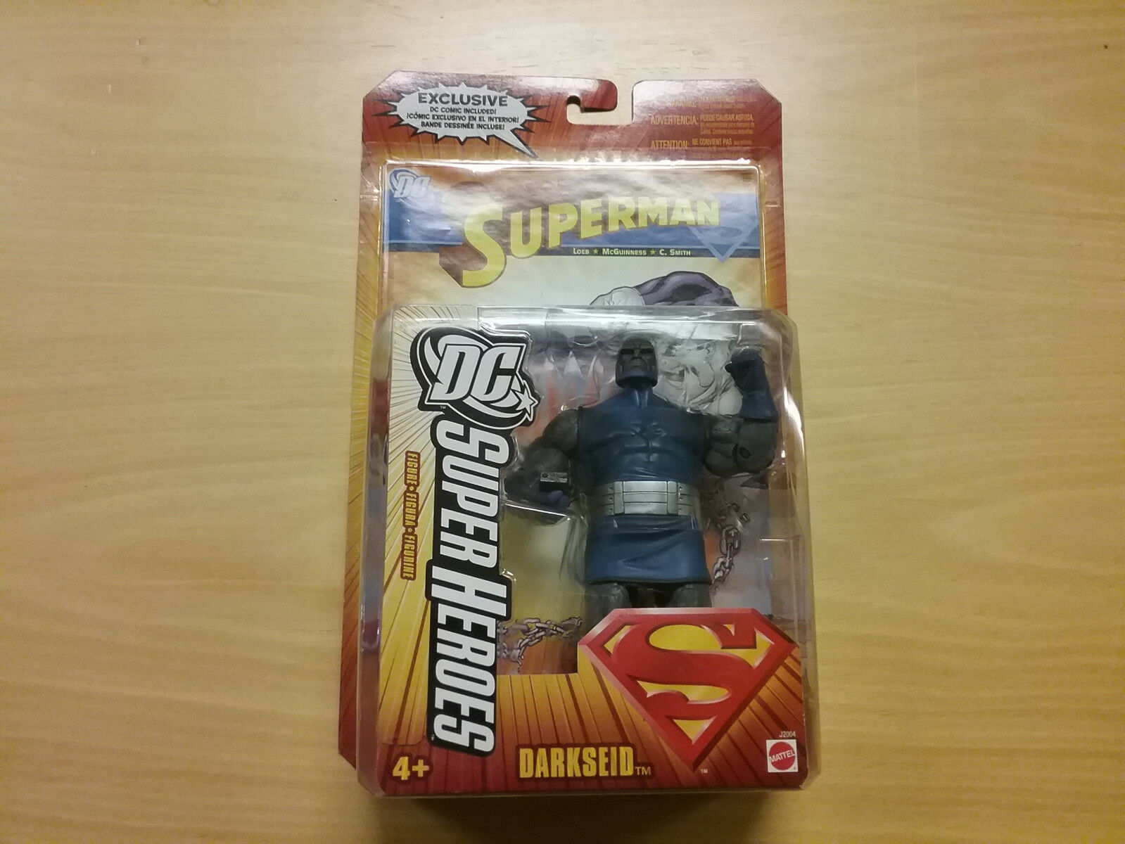 Mattel S3 DC Super Heroes Darkseid Figure NEW  Ship US