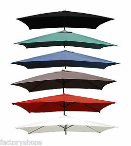 Parasol Cover 3x2m Metre Rectangular Replacement Fabric