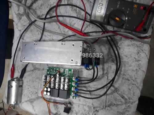 Motor Drehzahlregler Pwm Hho Rc Ws16 Dc 10-55v 12v 24v 36v 48v 55v 100a S260