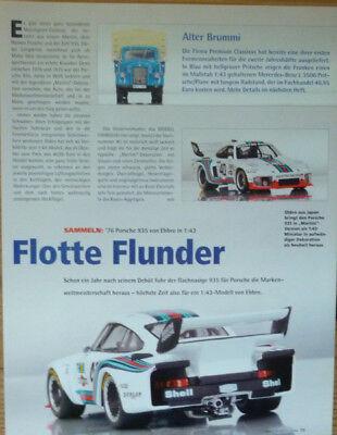 'porsche 935 Martini In 1-43 Di Ebbro... Un Modello Relazione #2006-mostra Il Titolo Originale