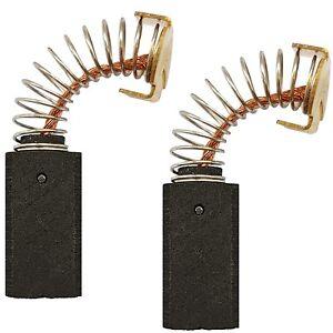Balais Charbon Charbons pour Einhell scie BT-SM 2131 Dual//TH-SM 2131 Dual//a61